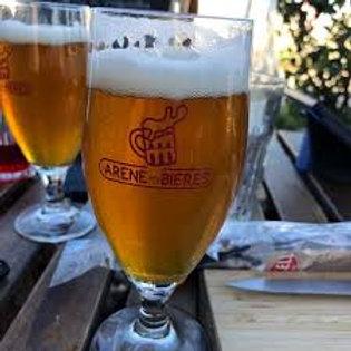 Verre l'Arène des bières