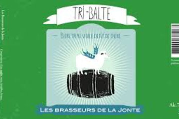Brasseurs de la Jonte - Tri balte barriquée 33cl 7°