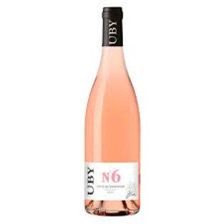 Uby n°6 rosé 75cl 11°5