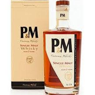 Whisky P et Msingle malt signature 42° 70cl