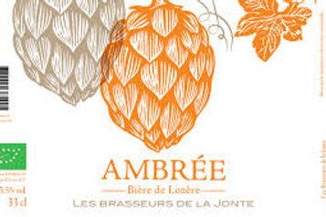 Brasseurs de le Jonte - Ambrée 33cl 5.5°