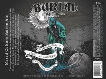 Burial - The separation of light and darkness 75cl 5°