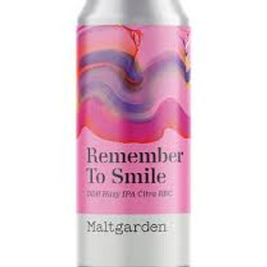 Maltgarden - remember to smile 50cl 6°