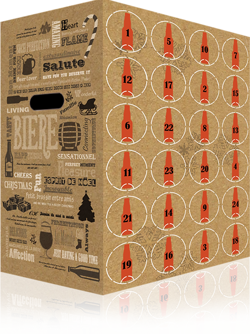 Calendrier avent craft