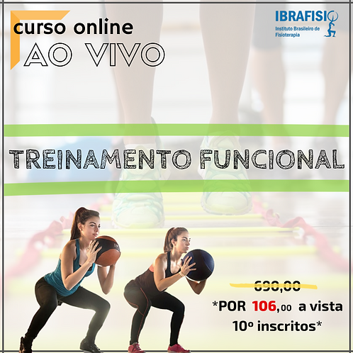 CURSO DE TREINAMENTO FUNCIONAL