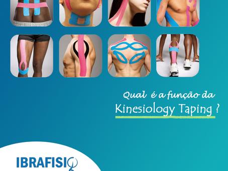 Qual é a função da Kinesiology Taping?