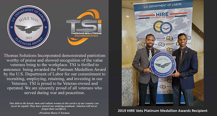 TSI Platinum Medallion