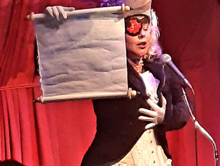 Achter de schermen: mijn eerste grote Burlesque optreden!
