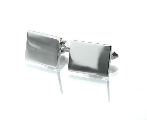 Sterling Silver Rectangular Cufflinks