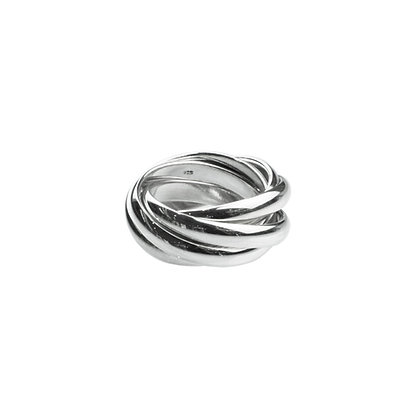 Sterling Silver Ring 5-in-1