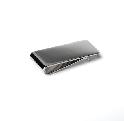 Sterling Silver Classic Money Clip -Large