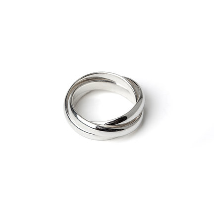 Sterling Silver Ring 3-in-1