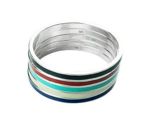 Sterling Silver 3-Wire Bangle