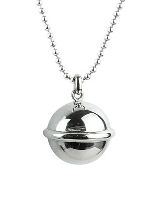 Sterling Silver Chime Ball Pendant