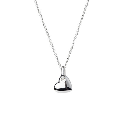 Sterling Silver Tiny Heart Pendant