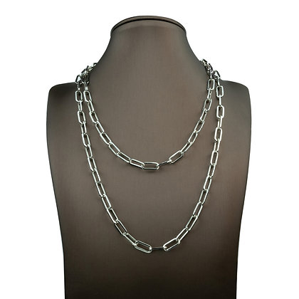 Sterling Silver Square Cable Chain