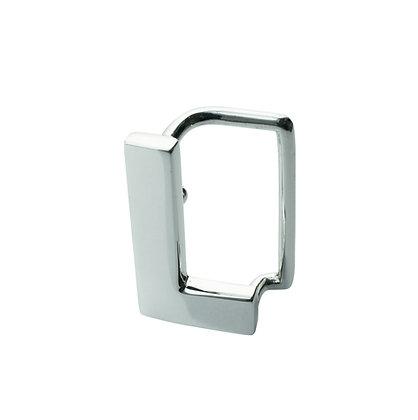 """Sterling Silver """"L"""" Belt Buckle"""