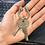 Thumbnail: Sterling Silver Key Ring - Small