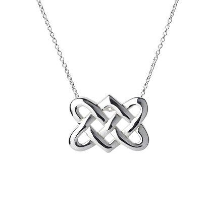 Sterling Silver Celtic Pendant - Large