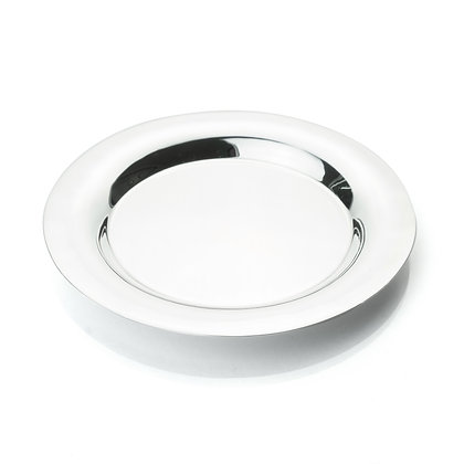 Sterling Silver Round Tray - Large