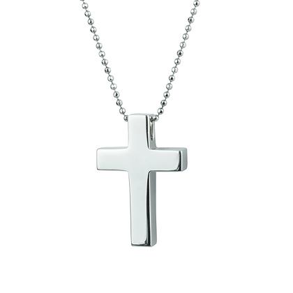 Sterling Silver Handmade Cross - Large