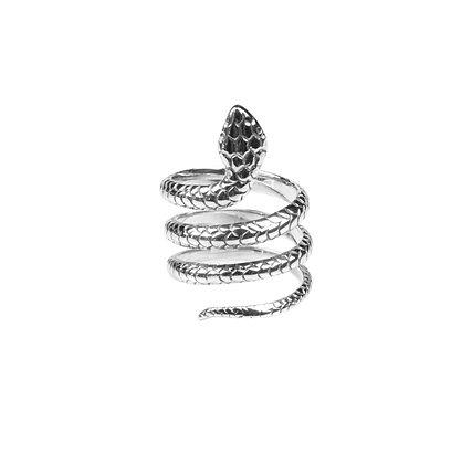 Sterling Silver Snake Ring