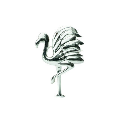 Sterling Silver Flamingo Brooch