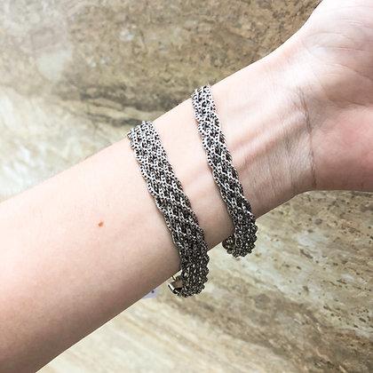 Sterling Silver Braided Bracelet