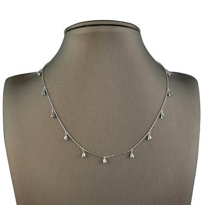 Sterling Silver Designed Necklace