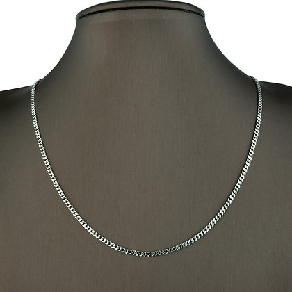 Sterling Silver Thin Curb Chain