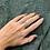 Thumbnail: Sterling Silver Ring with Diamond Simulants