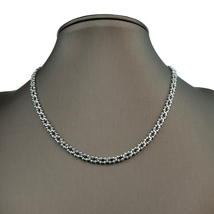 Sterling Silver Designed Necklace