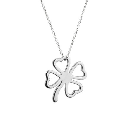 Sterling Silver Lucky Clover Pendant