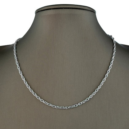 Sterling Silver Rope Chain - 3MM