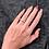 Thumbnail: Sterling Silver Ring with Diamond Simulant