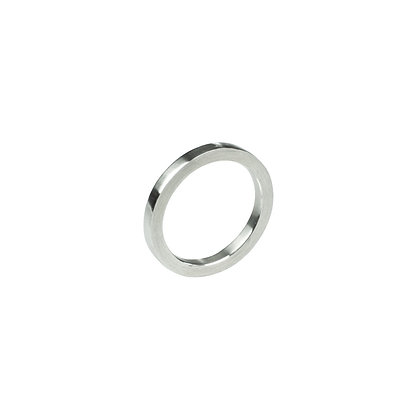 Sterling Silver Band Ring - Satin Finish