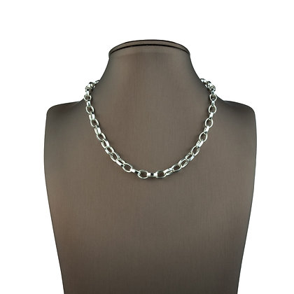 Sterling Silver Oval Chain