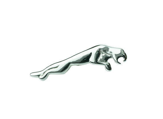 Sterling Silver Jaguar Brooch