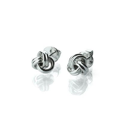 Sterling Silver  Fortune Cookie Earrings