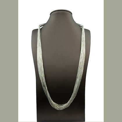 Sterling Silver Liquid Silver Necklace