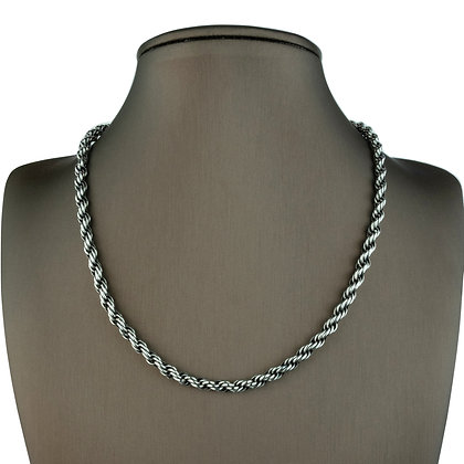Sterling Silver  Rope Chain - 5 MM