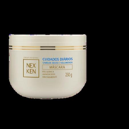Máscara Nexken Cuidados Diários Cabelos Secos e Volumosos 250g