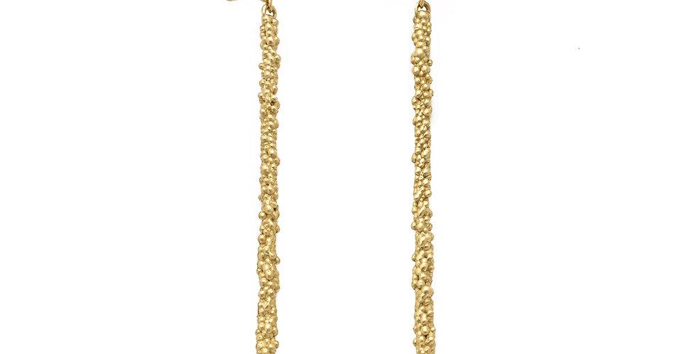 Pop Pinwheel Stick Earrings 18KY