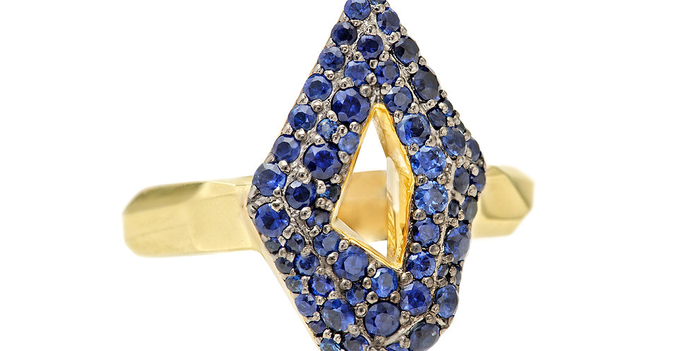 Icon Victoire Sapphire Ring 18KY