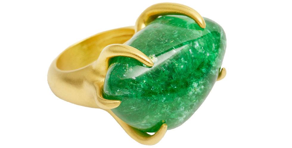 Paraiba Tourmaline Claw Ring, 22KY