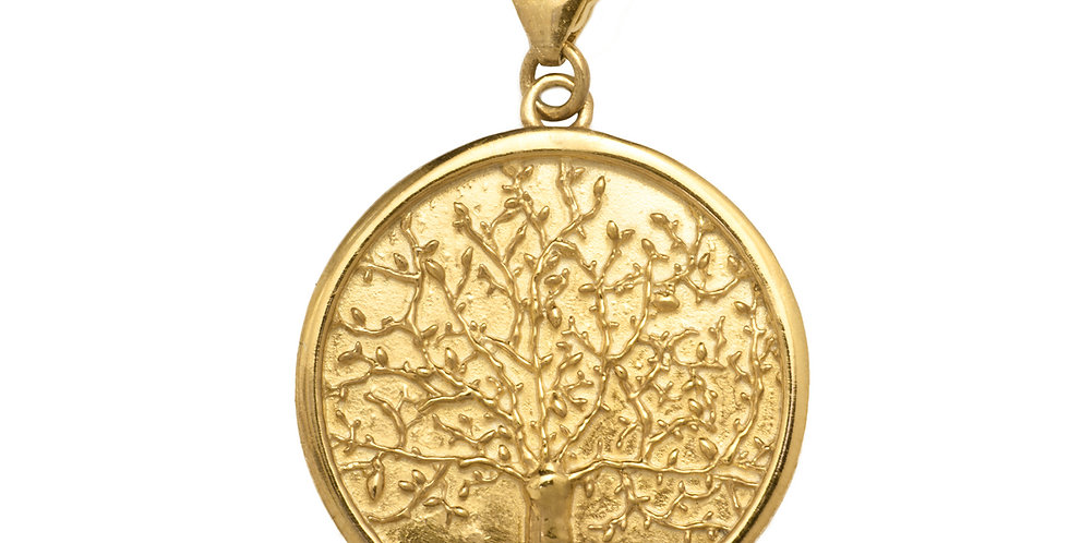 Tree of Life Charm 18KY