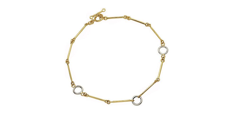 Signature Chain Mixed Gold Short 18KMG