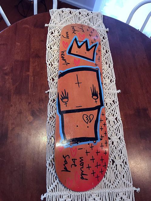 Broken Heart Skate deck