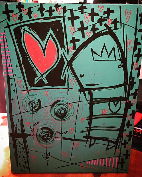 King of Hearts SOLD