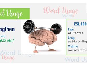 WordUsage Strengthen